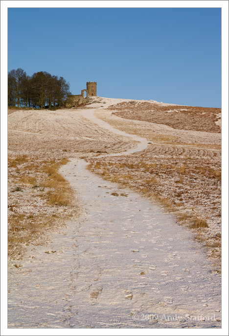 Old John in Winter, Bradgate Park