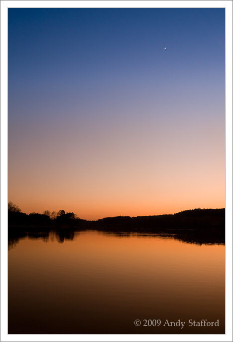 Sunset at Cropston Reservoir
