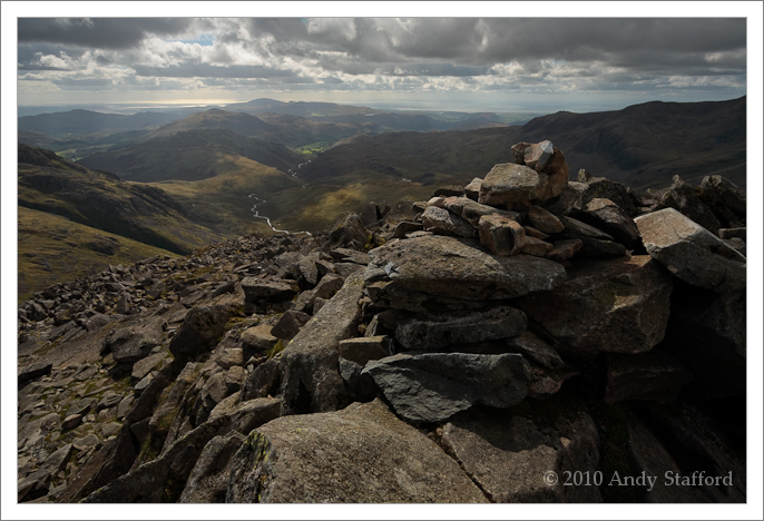 From the summit of Bowfell