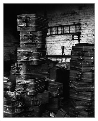 Taylor's Bell Foundry, Loughborough, Stack