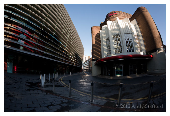 Curve Theatre and Athena, Leicester
