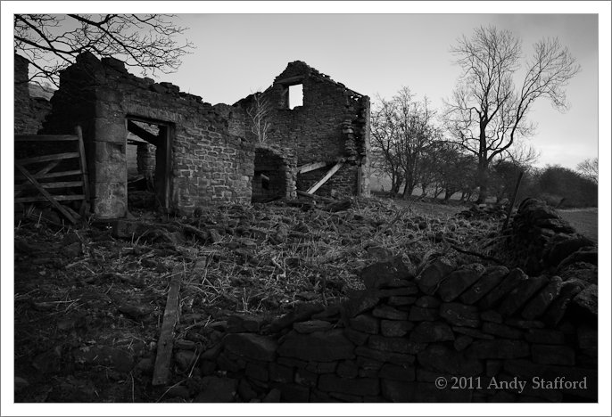 Derelict Barn, Win Hill, Peak District