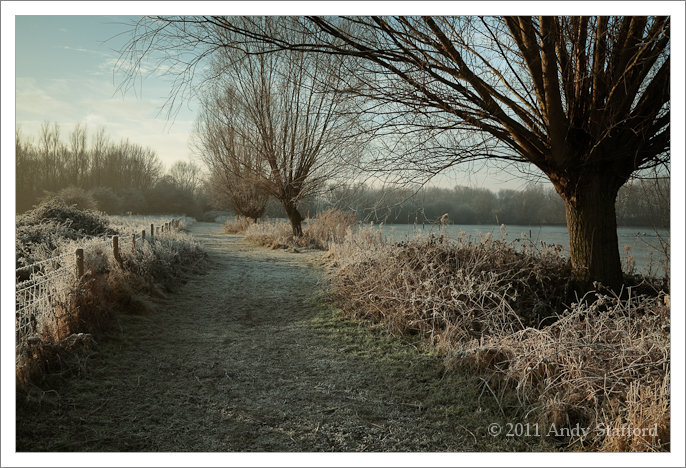 Frosty Morning In Watermead Park